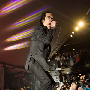 Nick Cave & The Bad Seeds plays at Stubb's during SXSW 2013.