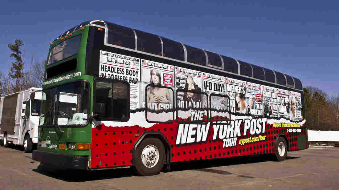 The New York Post, a tabloid known for irreverent and racy news coverage, has launched a bus tour of Manhattan based on some of its most legendary headlines.