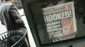 The New York Post is notorious for topping its stories of scandal and gossip with brazen and pun-laden headlines.