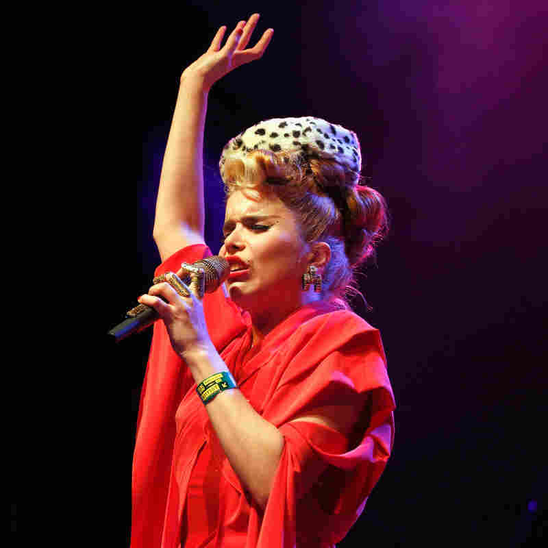 Paloma Faith at the Austin Music Hall during SXSW 2013.