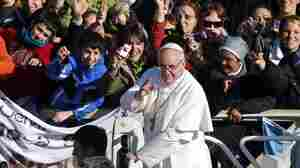 For Pope Francis, A Simple Mass And A Call To Protect The Poor