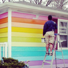 House Across From Westboro Baptist Is Painted With Gay Pride Rainbow Colors