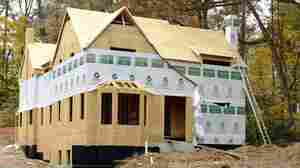 A home under construction in Atlanta late last year. The housing sector is now one of the economy's bright spots.