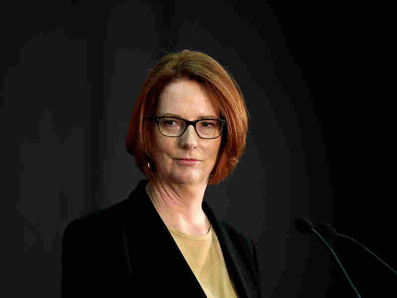 Australian Prime Minister Julia Gillard apologized Thrusday for how thousands of unwed mothers were forced to give up their children from the late-1950s to the '70s.