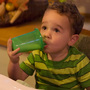 Parents are currently advised to switch toddlers to reduced-fat milk at age 2.