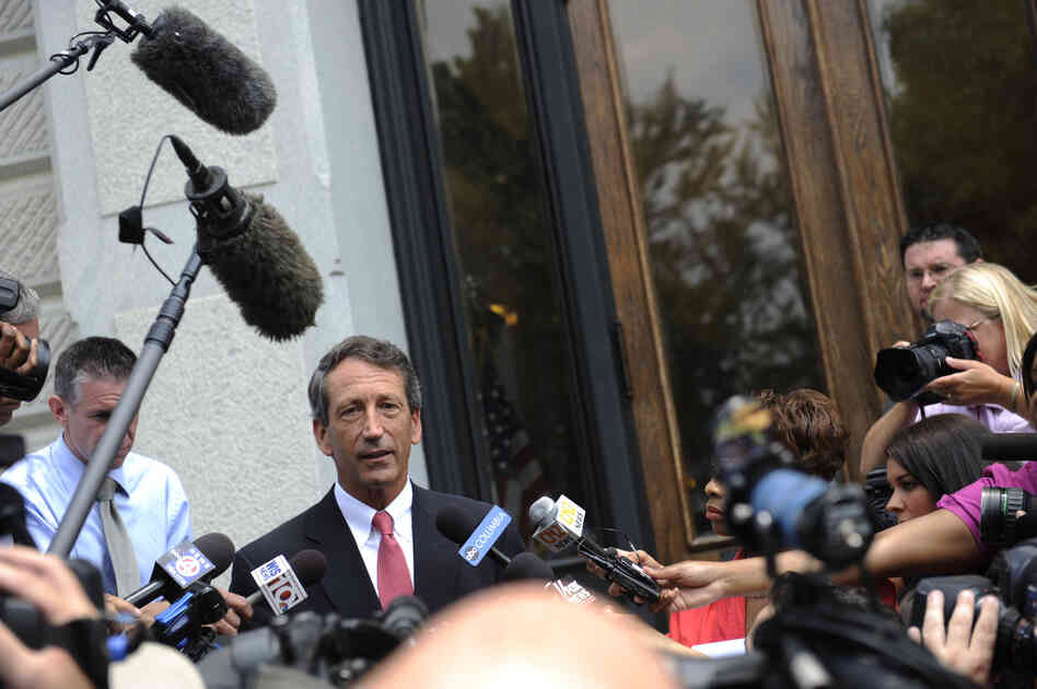 Former South Carolina Gov. Mark Sanford in 2009.