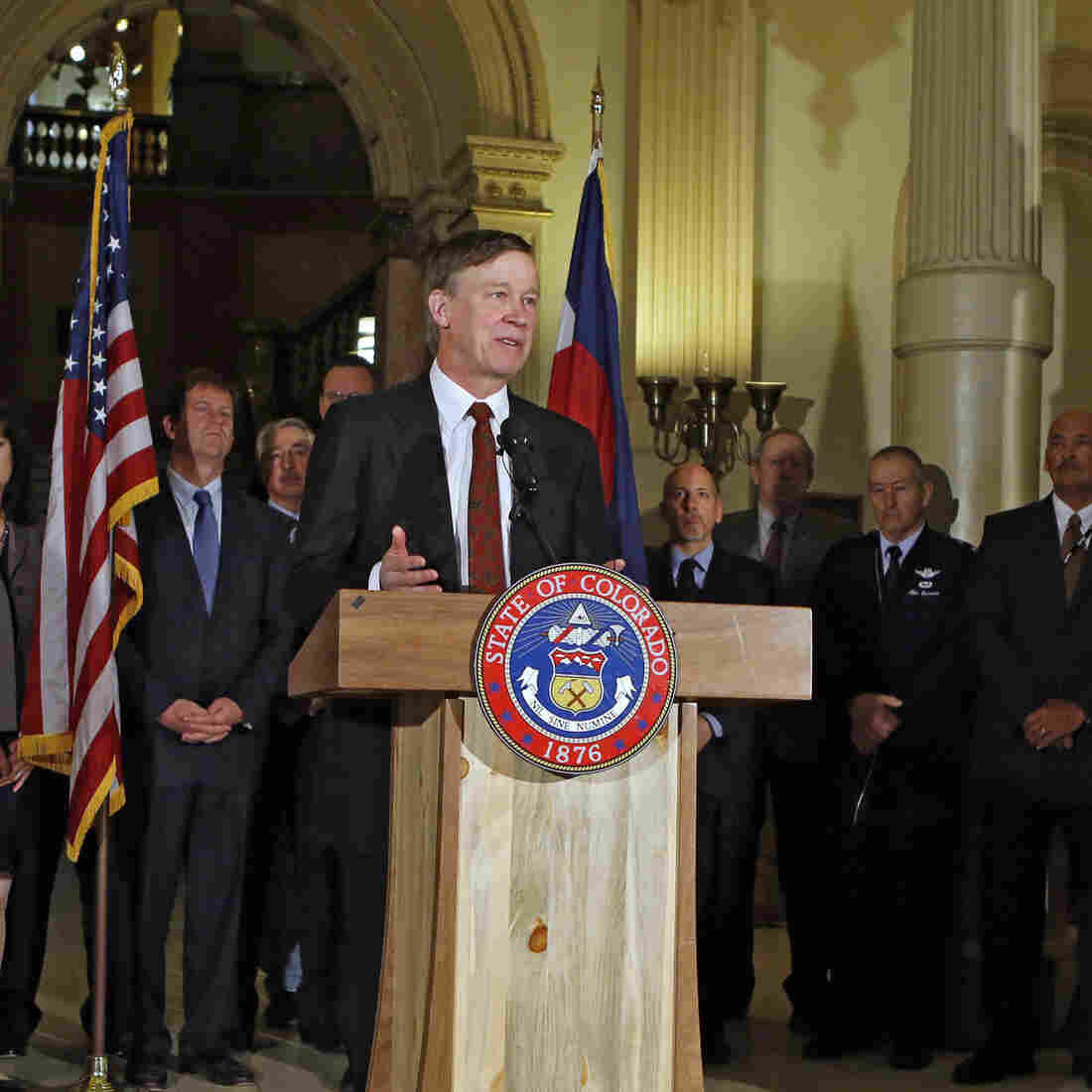 Colorado Governor Signs 'Landmark' Restriction On Guns Into Law