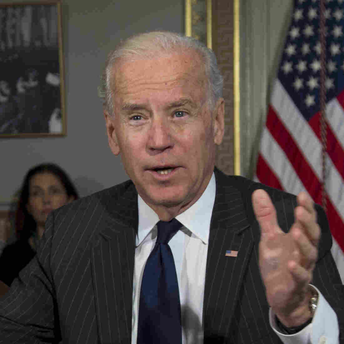 Administration Still Fighting For Assault Weapons Ban, Biden Says