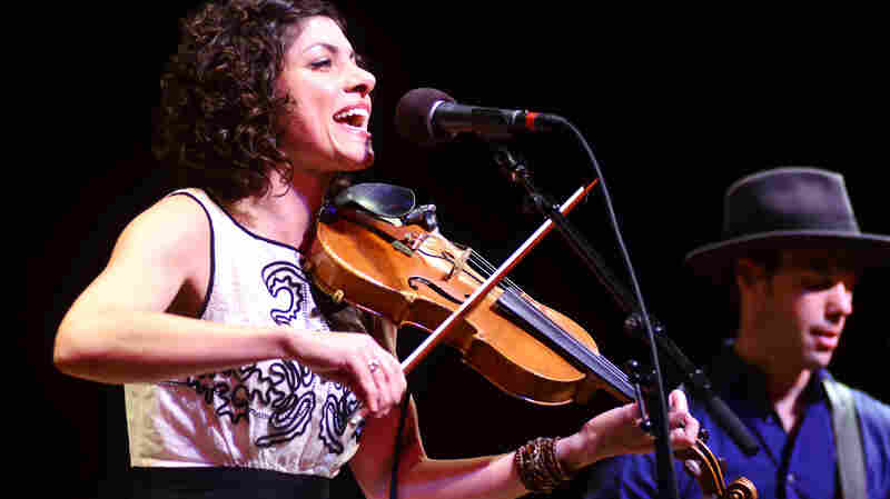 Carrie Rodriguez performing live on Mountain Stage.