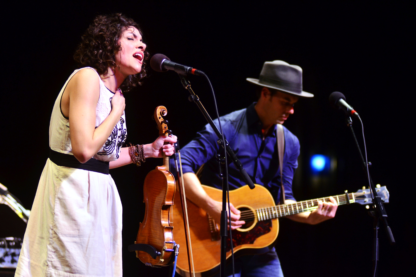 Carrie Rodriguez performs live on Mountain Stage.