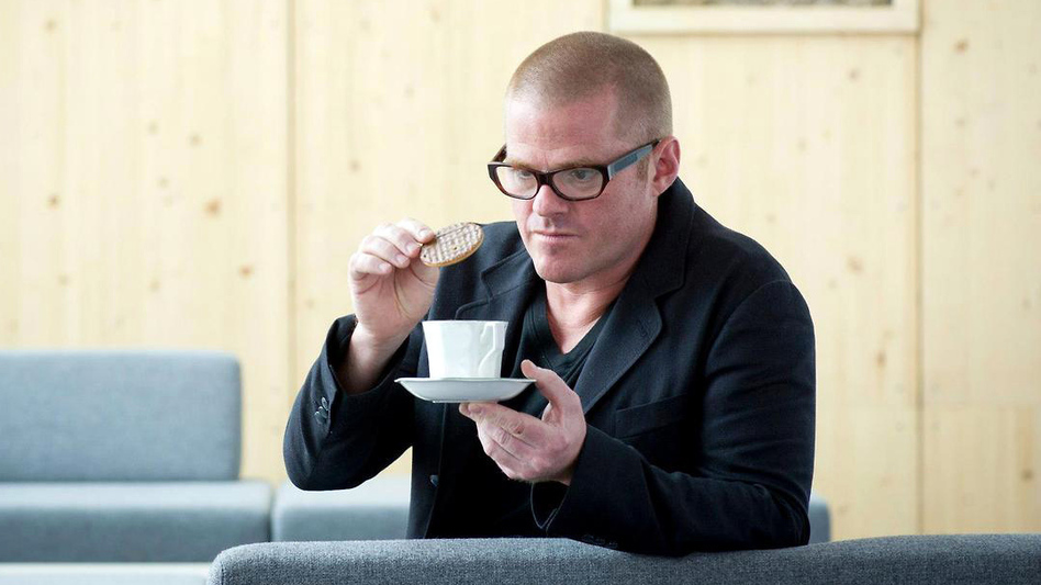When chef Heston Blumenthal was a kid, he wondered why people loved to dunk their biscuits into tea. (Courtesy of the University of Nottingham)