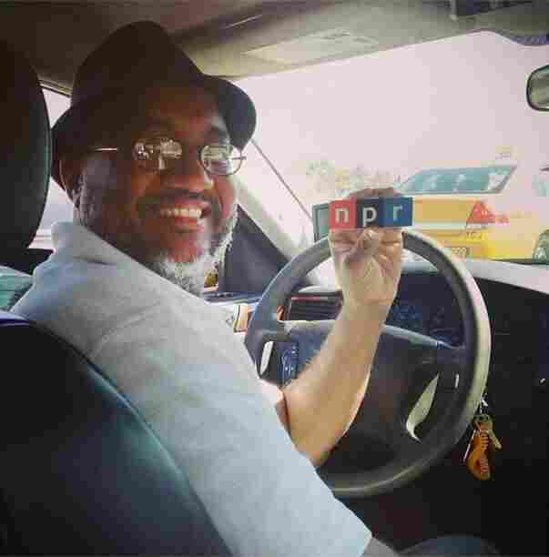 "NPR's Jessica Schreibstein had no trouble finding NPR fans in Austin: ""Tyrone, my cab driver this afternoon, loves @NPR! He's a New Orleans transplant and we talked about beignets and gumbo the whole ride."""