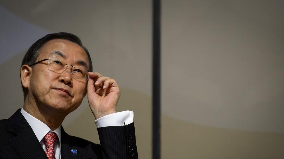 U.N. Secretary-General Ban Ki-moon. (AFP/Getty Images)