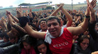 Fans at the Vive Latino 2013 Music Fest at the Foro Sol in Mexico City.