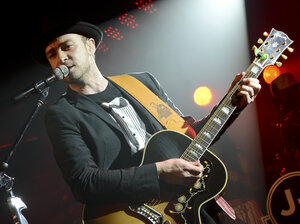 Justin Timberlake performs at Myspace Secret Show at SXSW on March 16 in Austin, Texas.