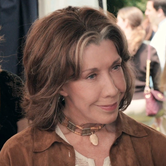 Lily Tomlin plays Susannah, the ardently feminist mother of Fey's character, in Admission.