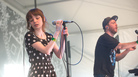 Chvrches performs at SXSW.