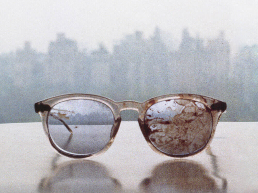 John Lennon's Bloodied Glasses Used In Plea On Gun Violence : NPR