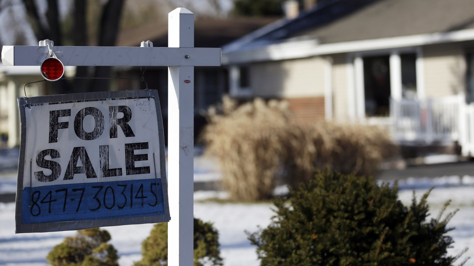 A home for sale in Glenview, Ill. Existing-home sales hit the highest level in more than 3 years in February. But not everyone is convinced that the housing sector's momentum has staying power. (AP)