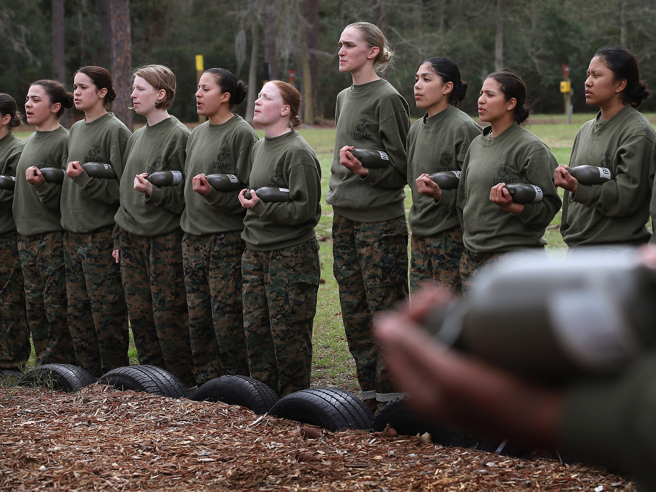 As Qualified Men Dwindle, Military Looks For A Few Good