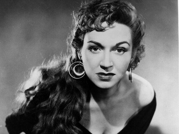 The late American mezzo-soprano Risë Stevens in her signature role as Carmen.