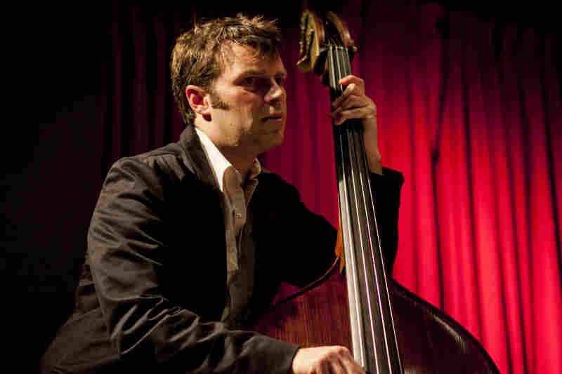 Todd Sickafoose performs at the 92Y Tribeca.