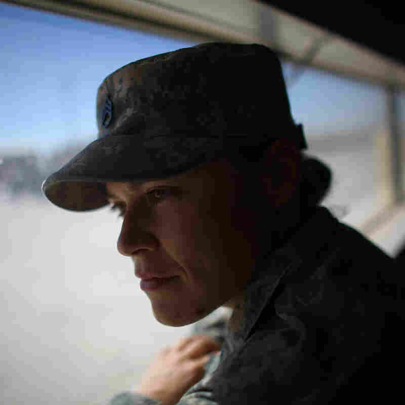 Sgt. Jessica Keown, with the 3rd Brigade, 1st Armored Division at Fort Bliss in El Paso Texas, served with a female engagement team, or FET, in Afghanistan.