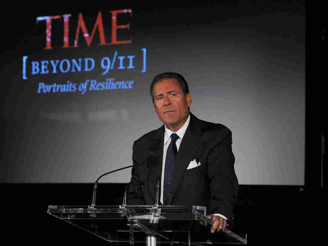 HBO chief Richard Plepler speaks in New York at a 2011 screening.