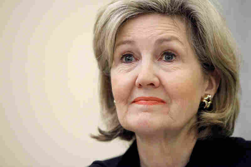 """I think it's been very helpful to have more women in the process, even when I disagree with them on philosophy,"" says former Sen. Kay Bailey Hutchison, R-Texas."