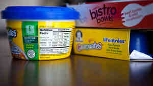 Prepacked foods marketed for toddlers can have extremely high levels of sodium compared to the 1,500-milligram daily limit recommended by the American Heart Association