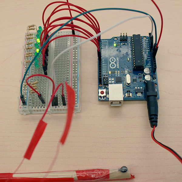 Here's an example of a finished DIY soil temperature sensor