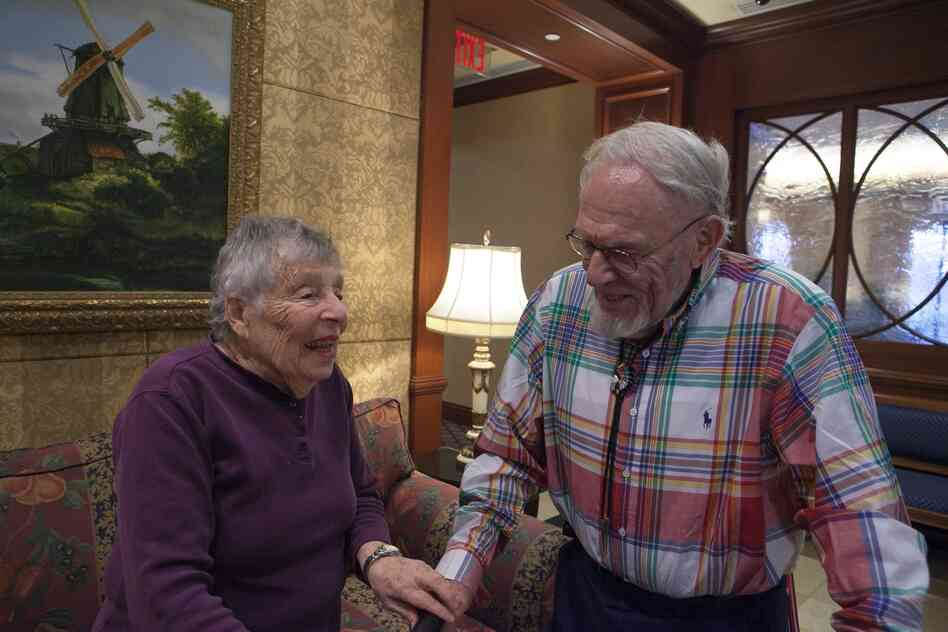Hilda Baumol, 90, and Monte Malach, 85, shared their food memories as part of Forgotten Foods of New York, an oral history project.