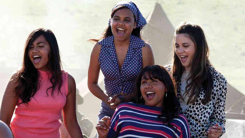 In The Sapphires, an R&B-loving musician helps turn four Australian aboriginal women into a soul act. From left: Julie (Jessica Mauboy), Cynthia (Miranda Tapsell), Gail (Deborah Mailman) and Kay (Shari Sebbens).