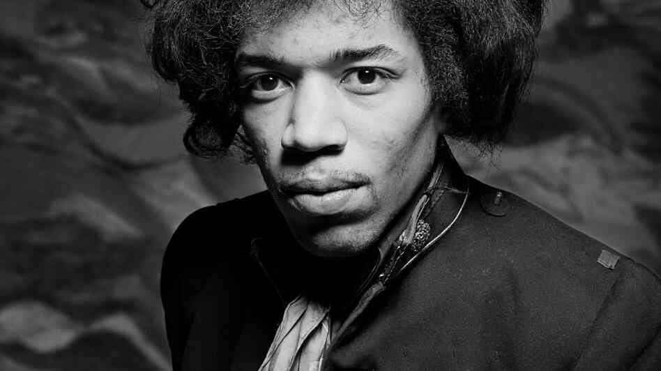 The newest collection of Jimi Hendrix material is titled People, Hell and Angels.