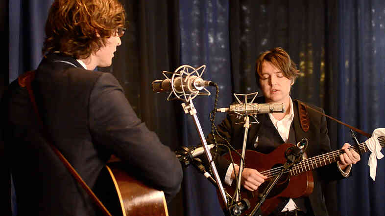 The Milk Carton Kids.