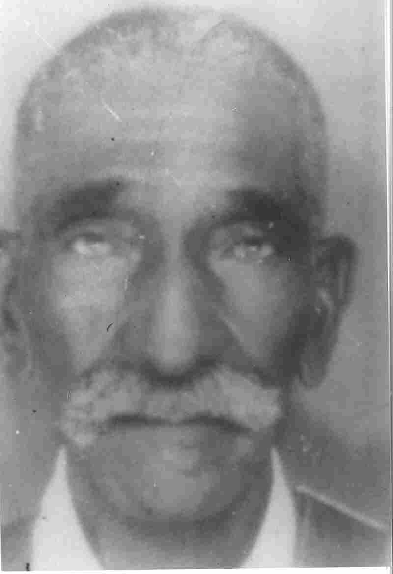 Ben Harmon, Sandra Arnold's great-grandfather, was born a slave. He was buried on a former plantation in Tennessee and served as the inspiration for Arnold's project.