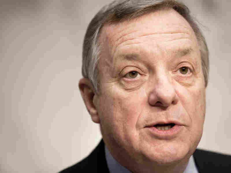 Illinois Sen. Richard Durbin is one of the 15 sitting Democrats who voted for the Defense of Marriage Act in 1996 but now oppose it.