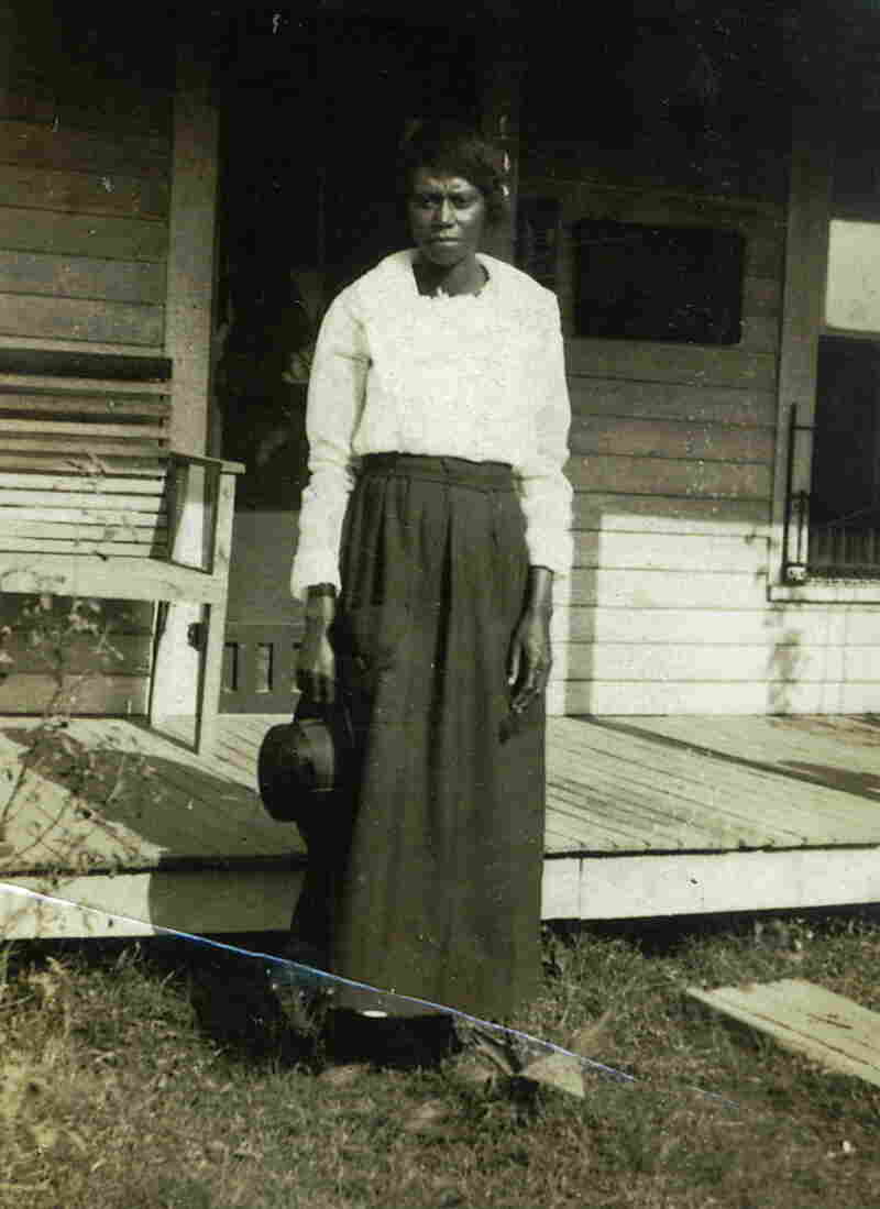 Ethel Harmon, Sandra Arnold's great-grandmother, is buried next to her husband, Ben Harmon, in Tennessee.