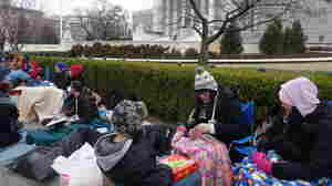 100 Hours On The Supreme Court's Sidewalk: Camping Out For A Seat To History