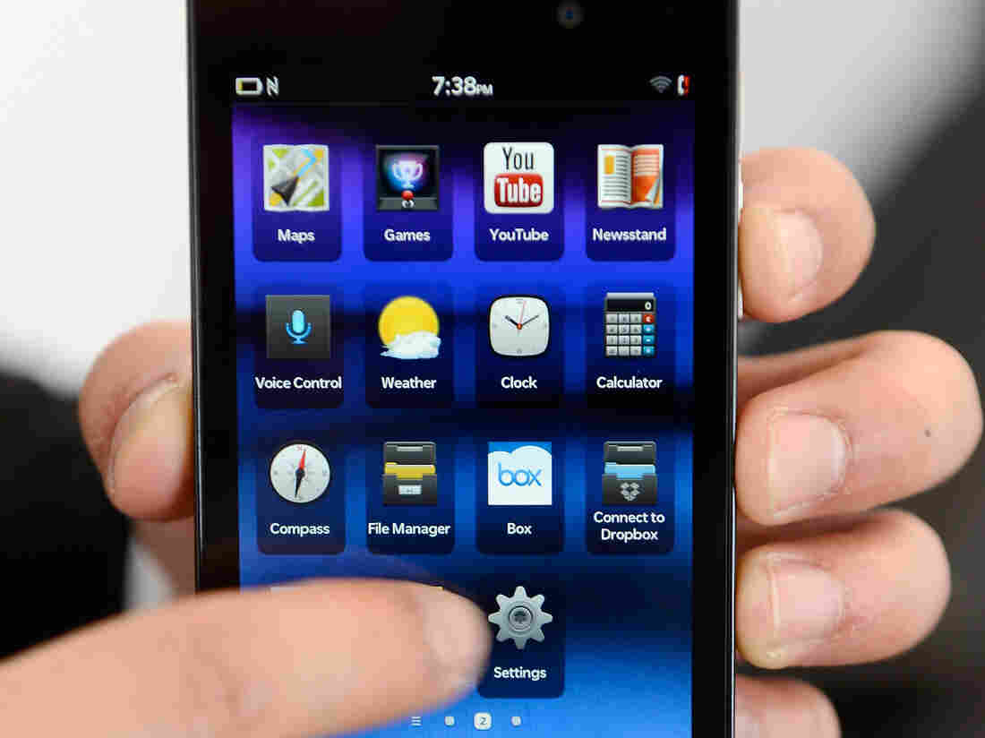 "BlackBerry's Z10: ""Disappointing"" launch."