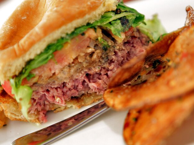 An Arizona restaurant sold lion meat burgers in 2010 in an attempt to drum up business during the World Cup soccer tournament held in South Africa.
