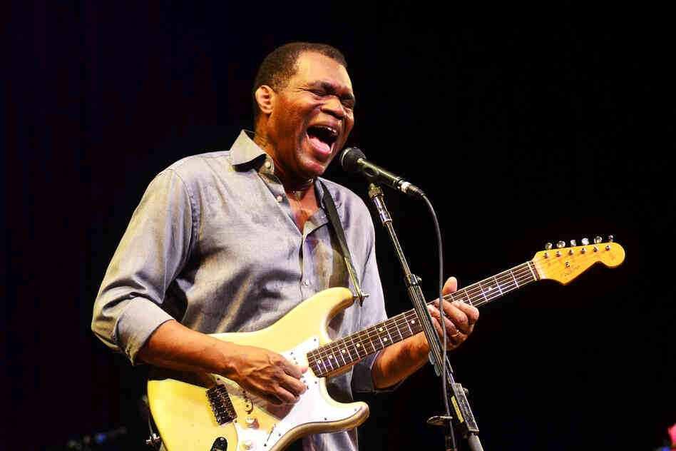 Robert Cray performing live on Mountain Stage.