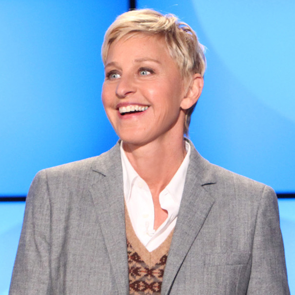 Ellen DeGeneres during a taping of The Ellen DeGeneres Show in 2011 in Burbank, Calif.