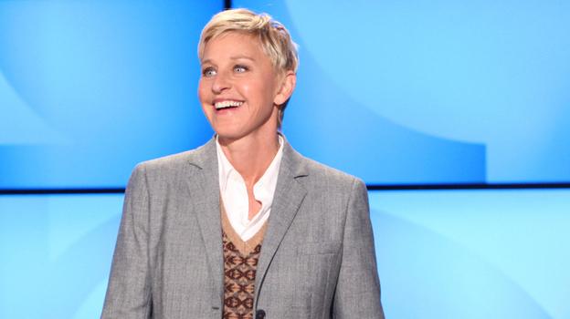 Ellen DeGeneres during a taping of The Ellen DeGeneres Show in 2011 in Burbank, Calif. (AP)