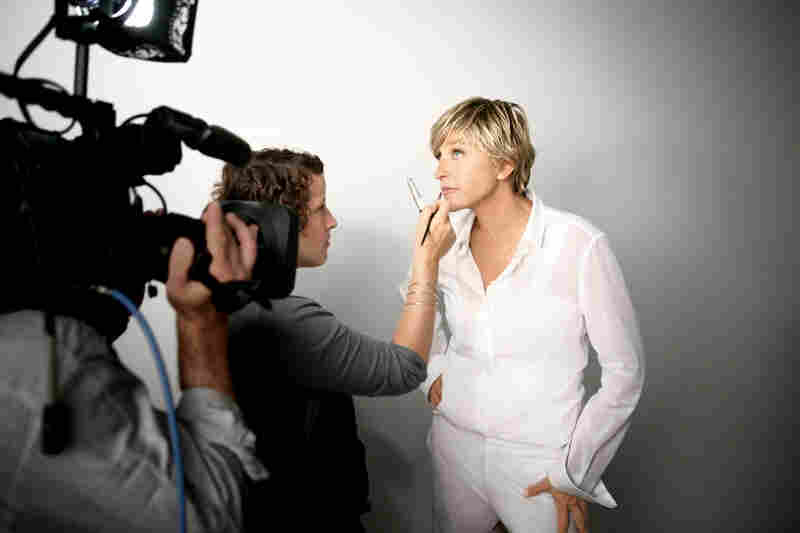 Ellen DeGeneres became a spokeswoman for CoverGirl cosmetics in 2009 and is also spokeswoman for J.C. Penney.