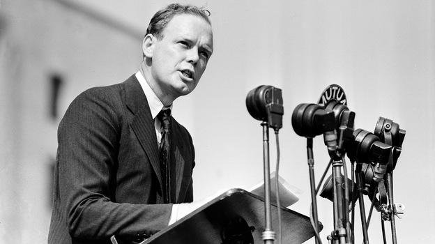 Before Pearl Harbor, aviator Charles Lindbergh was so vocal about his opposition to U.S. involvement in World War II that he became an unofficial leader of America's isolationist movement. (AP)
