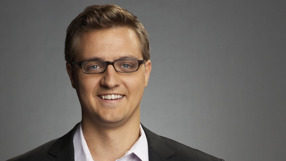 Anchor Chris Hayes will host a new MSNBC weeknight show beginning April 1. (MSNBC)