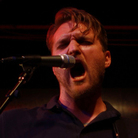 Cold War Kids' Nathan Willett performs at Apogee's Berkeley Street Studio for a crowd of KCRW supporters.
