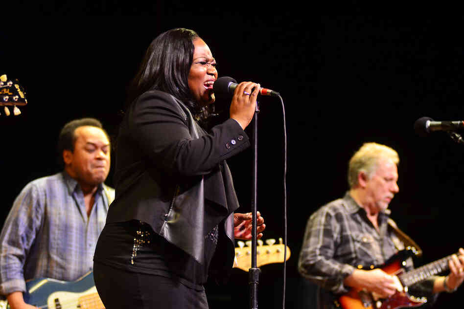 Shemekia Copeland performing live on Mountain Stage.