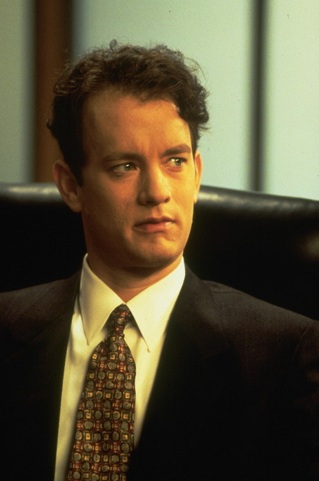 As embattled, closeted lawyer Andrew Beckett, Tom Hanks brought gay rights to trial in 1993's Philadelphia.